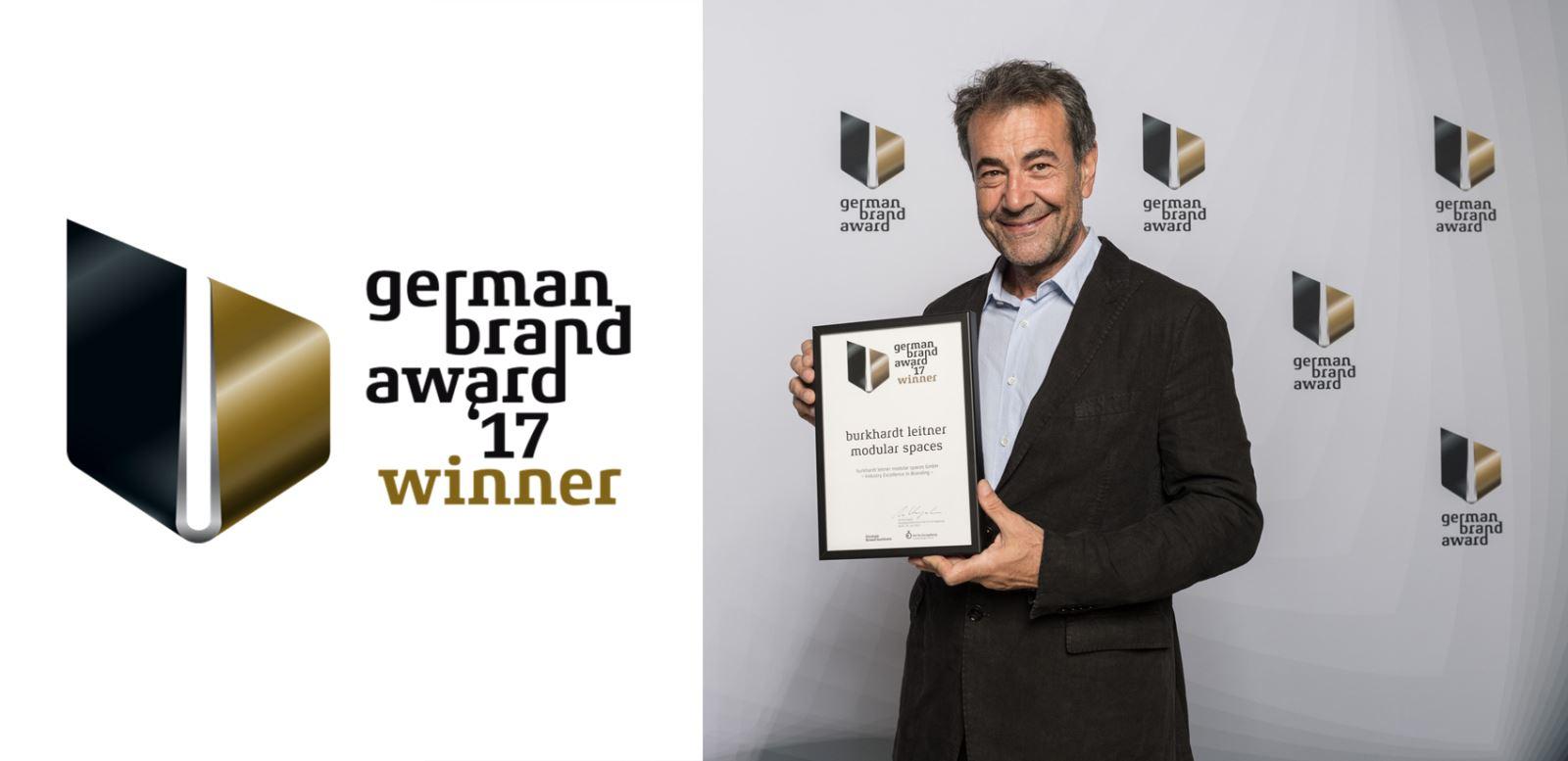 Wir wurden mit dem German Brand Award 2017 ausgezeichnet!