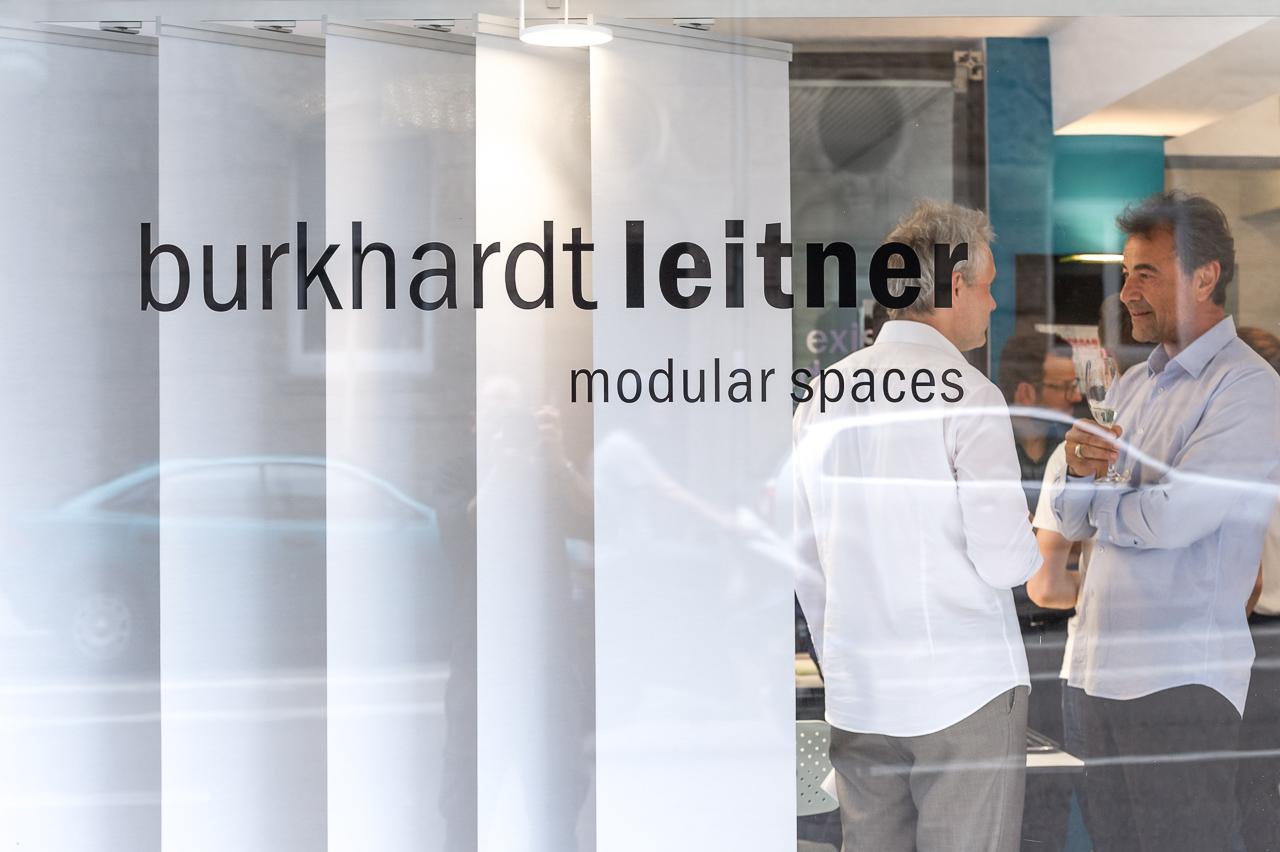 Eröffnung des neuen Showrooms von Burkhardt Leitner Modular Spaces in Stuttgart