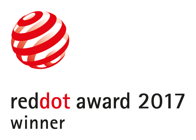 pon media won Red Dot Product Design Award 2017